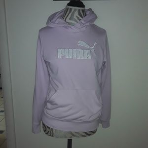 Womens puma hoodie! Size M!